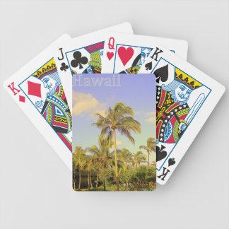 Blue Hawaii Poker Deck