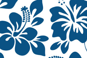 Blue Hawaii Hibiscus Flower Gifts Home Furnishings Accessories