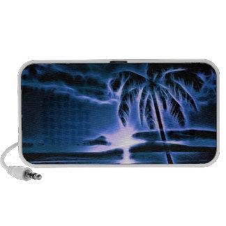 Blue Hawaiian Sunset Notebook Speakers