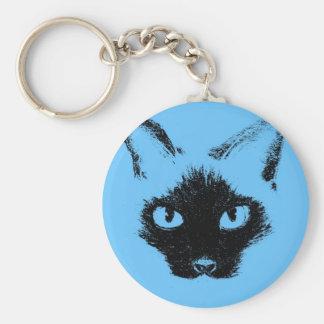 Blue Hayley.jpg Basic Round Button Key Ring