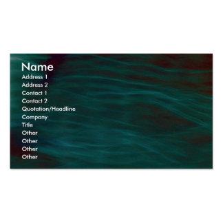 Blue haze business card
