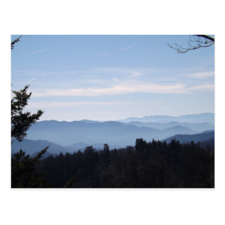 Blue Haze Smoky Mountains Postcard
