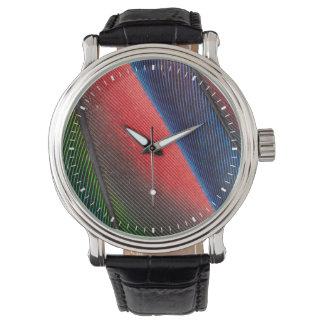 Blue-headed Pionus feathers Watch