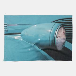 Blue Headlight Tea Towel