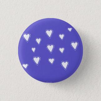 Blue heart badge