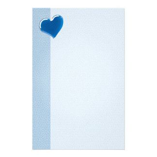 Blue Heart | Cool Stationery