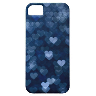 blue hearts iPhone 5 cases