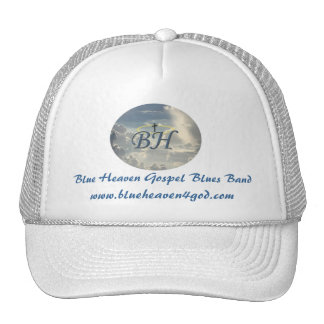 Blue Heaven Baseball Hat, Wht Or Various Colors
