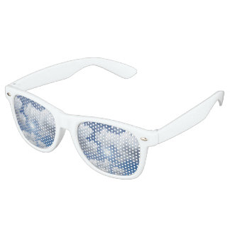 Blue Heaven Clouds + your ideas Retro Sunglasses