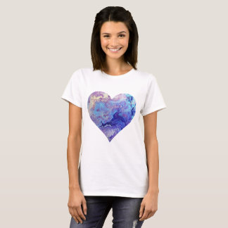 Blue Heaven Heart T-Shirt