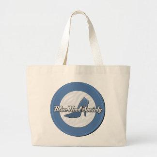 Blue Heel Society Jumbo Tote Tote Bag