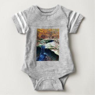 Blue Hen Falls Cuyahoga National Park Ohio Baby Bodysuit
