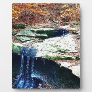 Blue Hen Falls Cuyahoga National Park Ohio Plaque