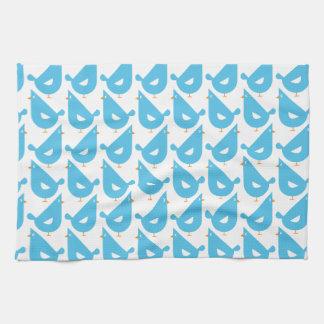 Blue Hen Tea Towel