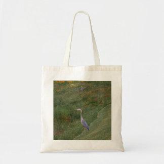 """Blue Heron"" Bag"