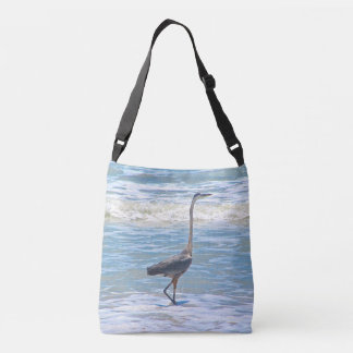 blue heron body bag