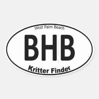 Blue Heron Bridge - Kritter Finder - Sticker