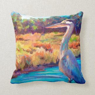 Blue Heron Cushion