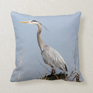 Blue Heron Cushion
