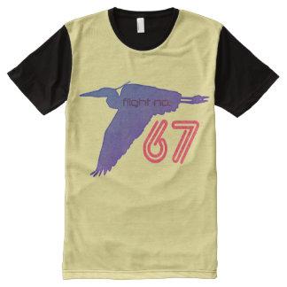 Blue Heron Flight No.67 All-Over Print T-Shirt