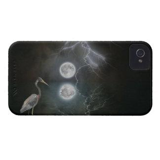 Blue Heron, Moon Fantasy Art Blackberry Bold Case