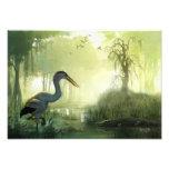 Blue Heron Morning Photographic Print