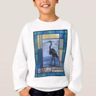 Blue Heron with Blues Sweatshirt