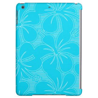 Blue Hibiscus lines