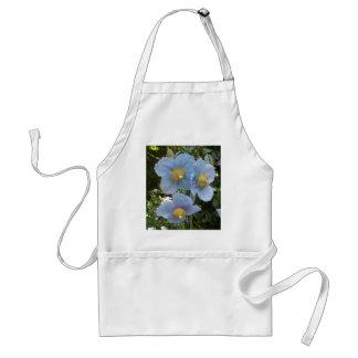 blue himalayan poppy adult apron