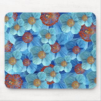 Blue Himalayan Poppy Flower Mousepad