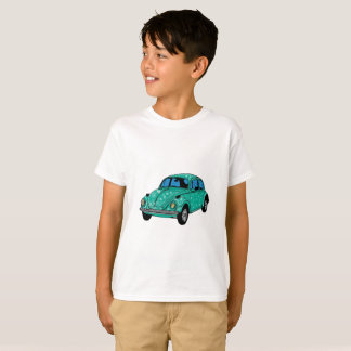 Blue Hippie Car Hanes TAGLESS T-Shirt
