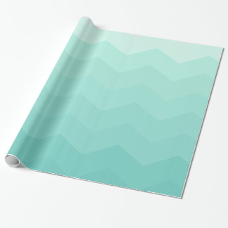 Blue Hipster Gem Wrapping Paper