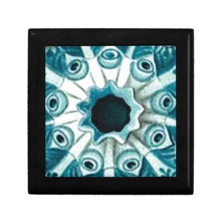 blue hole and eyes gift box