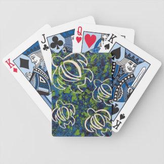 Blue Honu Poker Deck