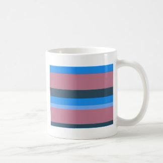 Blue Horizontal Coffee Mugs