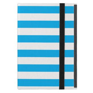 Blue Horizontal Stripes Case For iPad Mini