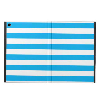 Blue Horizontal Stripes iPad Air Case