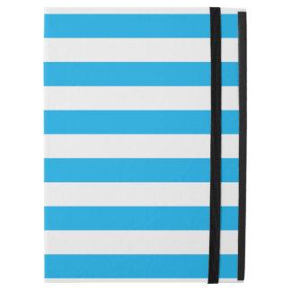 "Blue Horizontal Stripes iPad Pro 12.9"" Case"