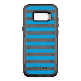 Blue Horizontal Stripes OtterBox Commuter Samsung Galaxy S8+ Case
