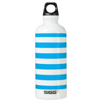 Blue Horizontal Stripes SIGG Traveller 0.6L Water Bottle