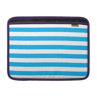 Blue Horizontal Stripes Sleeve For MacBook Air