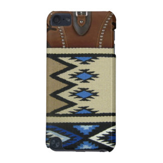 Blue Horse Blanket Western IPod Touch Case