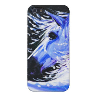 Blue horse cover for iPhone 5/5S