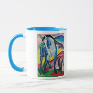 Blue Horse I by Franz Marc Mug