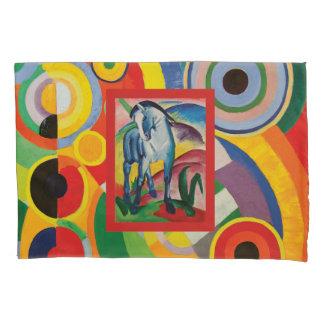 Blue Horse I by Franz Marc Pillowcase