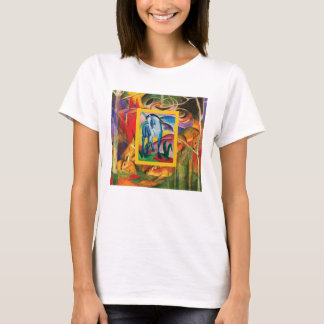 Blue Horse I by Franz Marc T-Shirt