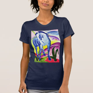 Blue Horse I By Marc Franz T-Shirt