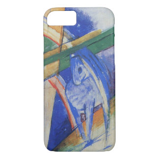 Blue Horse with Rainbow by Franz Marc iPhone 7 Case