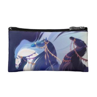 Blue Horses - cosmetic bag