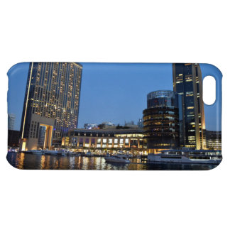 Blue hour skyscrapers in Dubai Marina iPhone 5C Cases